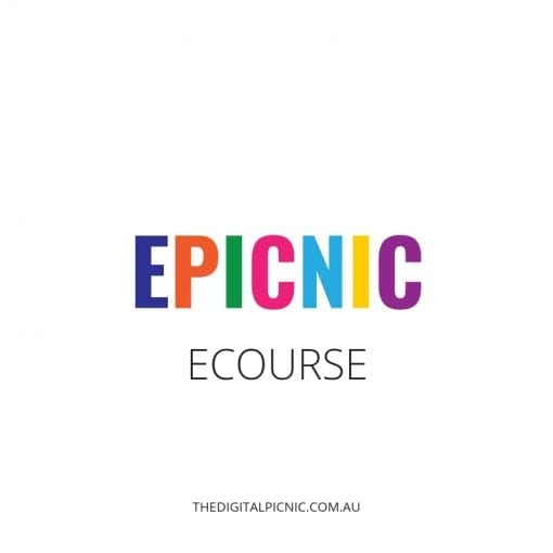 ePicnic course - The Digital Picnics signature online course.