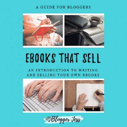 Ebooks that sell by Blogger Jess