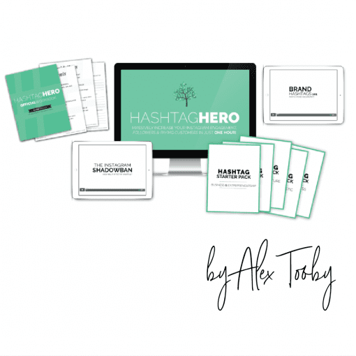 Hashtag Hero by Alex Tooby