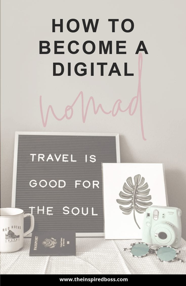 How to become a digital nomad - 5 buesses that will get you travelling in no time!