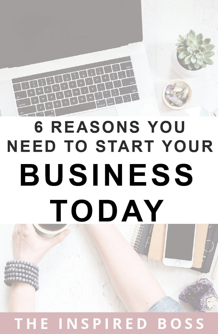 6 reasons you need to start your online business today. We all know how hard it can be to create it and then launch it into the big wide world. Here are the reasons you need to do it today