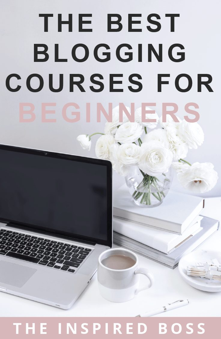 Here are the best blogging courses we've used to grow your blog and business!