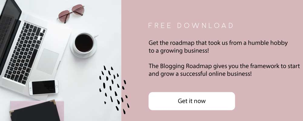 Get The Blogging Roadmap for free!