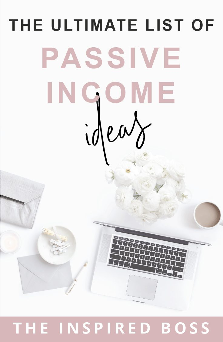 Wanting to know how to increase your income with passive income? We know it's the key to creating a life of freedom and abundance. Here's our ultimate list of passive income ideas!