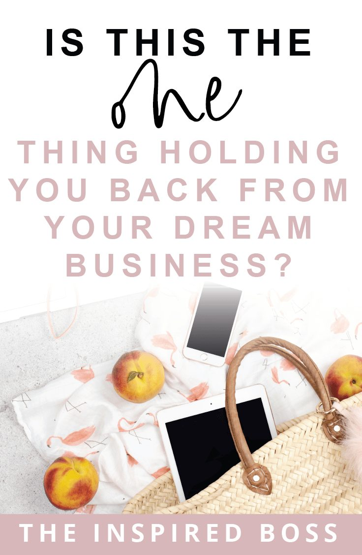 How to not care about what people think and start the business of your dreams today!