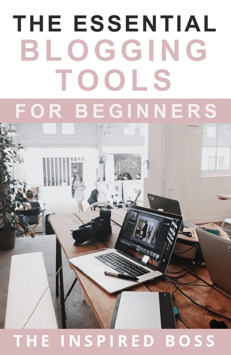 The essential blogging tools for beginners. Start your blog and business the right way with the right tools that will allow you to grow