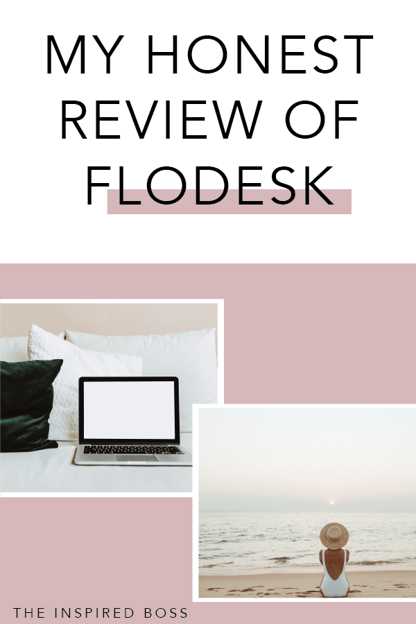 My honest review of Flodesk, why I moved my blogs over to it and a 50% discount for you