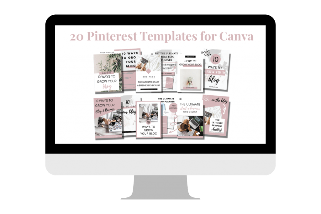 20 Pinterest Templates for Canva