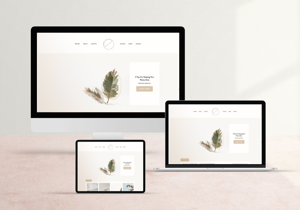 Templates forSquarespace - Forth and Wild